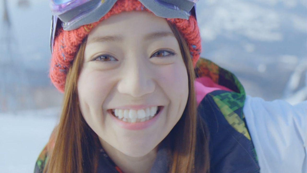 優子スキーCM5