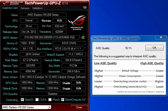 ASUS ROG MATRIX-R9290X-P-4GD5
