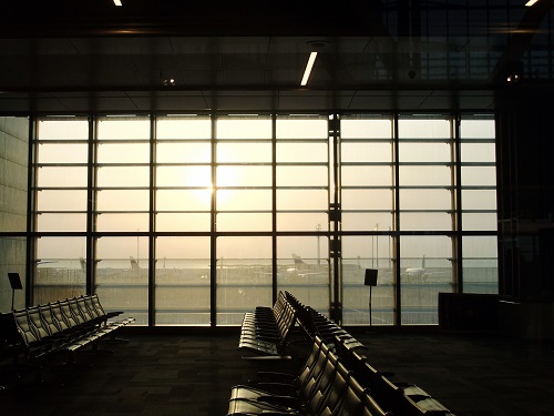 ドーハ空港内で (4)