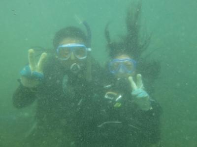 08-04 体験ダイビング