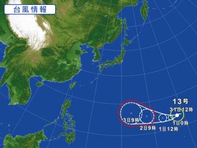 07-31 台風・・・。