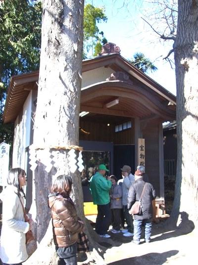 六所神社・神像特別公開宝物殿