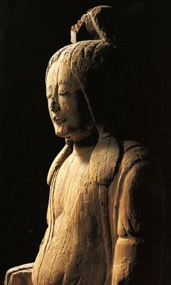 六所神社・女神像~神奈川の神道美術展図録掲載写真