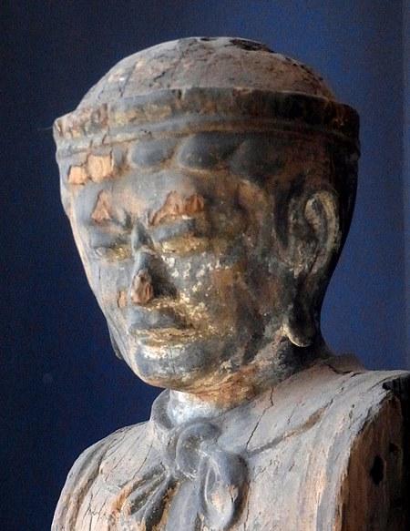 六所神社男神像~特別公開現地写真
