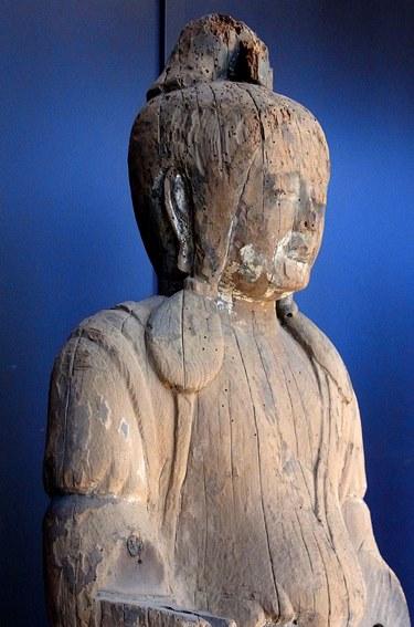 六所神社・女神像~特別公開現地写真