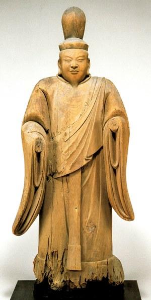 高来神社・男神立像