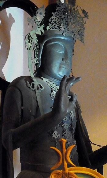 堺市・海岸寺~菩薩立像(平安)・復元修復後の姿