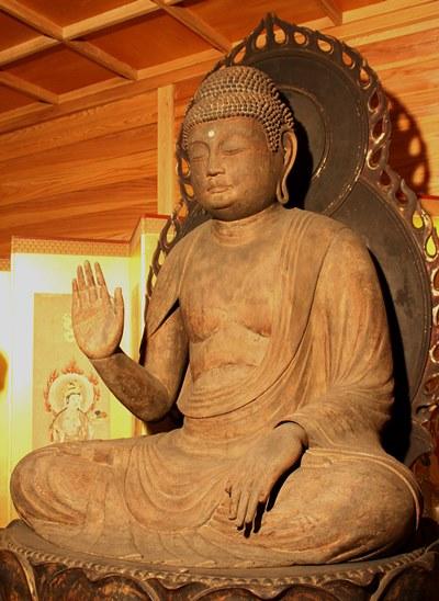 大分県宇佐市・大楽寺~伝弥勒仏像(重文・平安後期)