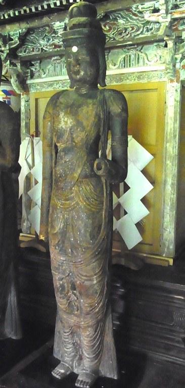 小沼神社・聖観音立像