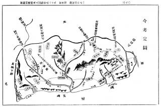 新編相模国風土記稿:淘綾郡今考定図