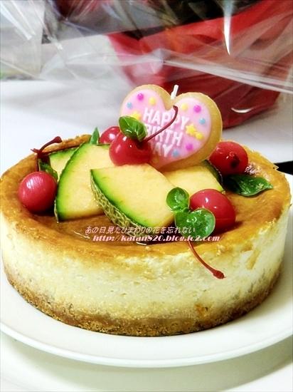 ベイクドアップルチーズケーキ♪