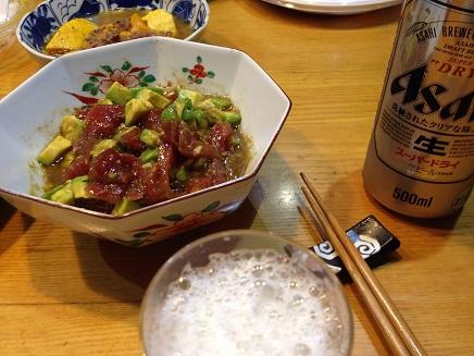 7302015夕食晩酌S