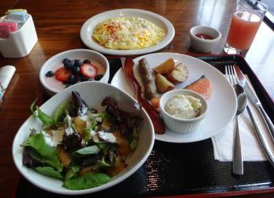 都ハイブリッド ホテル 朝食1