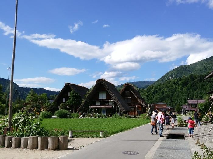 暑い夏が到来!! 夏休みの家族旅行に、お友達同士でのグループ旅行に白川郷へ ④