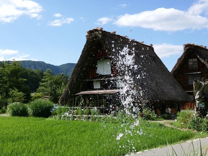 暑い夏が到来!! 夏休みの家族旅行に、お友達同士でのグループ旅行に白川郷へ ⑤