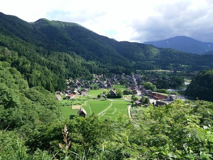 暑い夏が到来!! 夏休みの家族旅行に、お友達同士でのグループ旅行に白川郷へ ⑥
