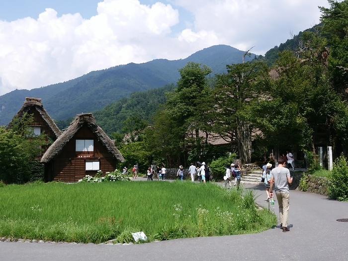 夏の旅行は、人の多いお盆を過ぎてからゆっくりと・・・♪白川郷へ ③