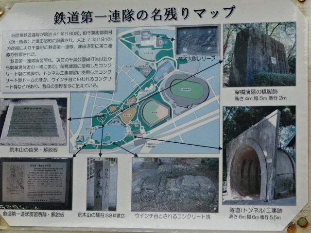 千葉公園・戦跡マップ