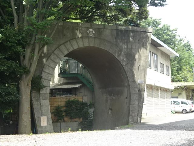 陸軍鉄道連隊・演習用トンネル