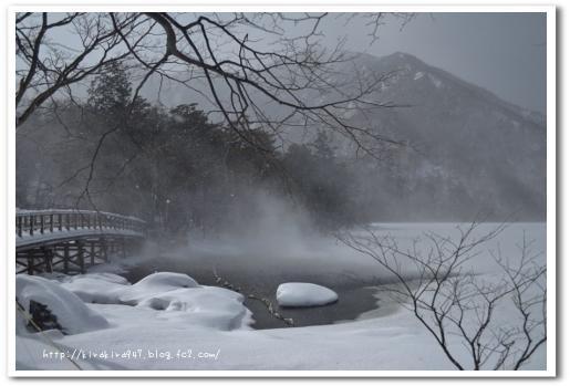 冬の奥日光