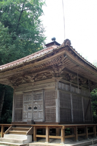 法王寺護摩堂
