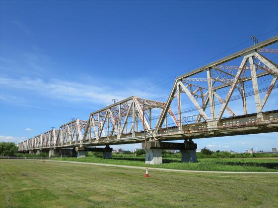 2015年7月赤川鉄橋01