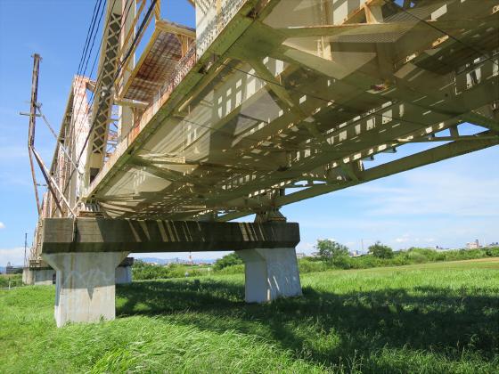2015年7月赤川鉄橋02