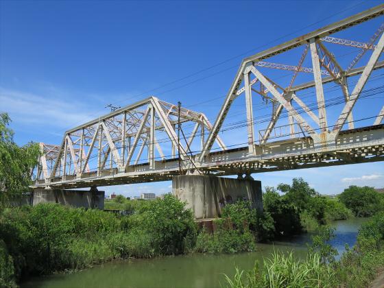2015年7月赤川鉄橋03