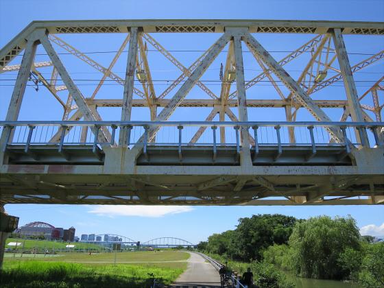 2015年7月赤川鉄橋04