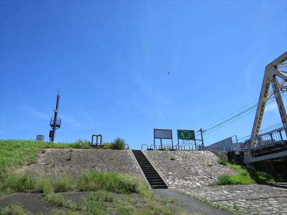 2015年7月赤川鉄橋10