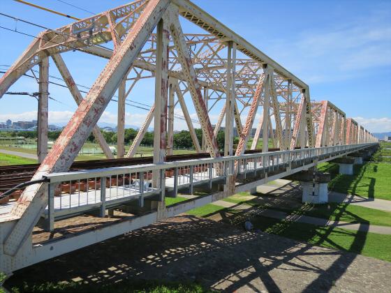 2015年7月赤川鉄橋11