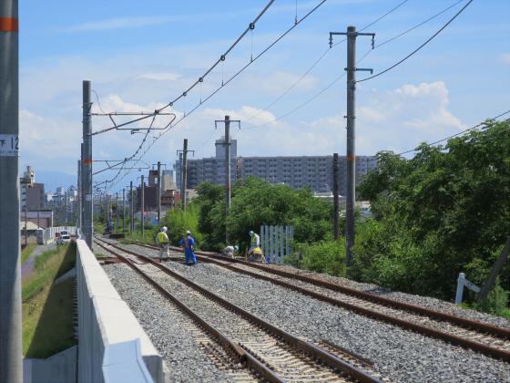 2015年7月赤川鉄橋15