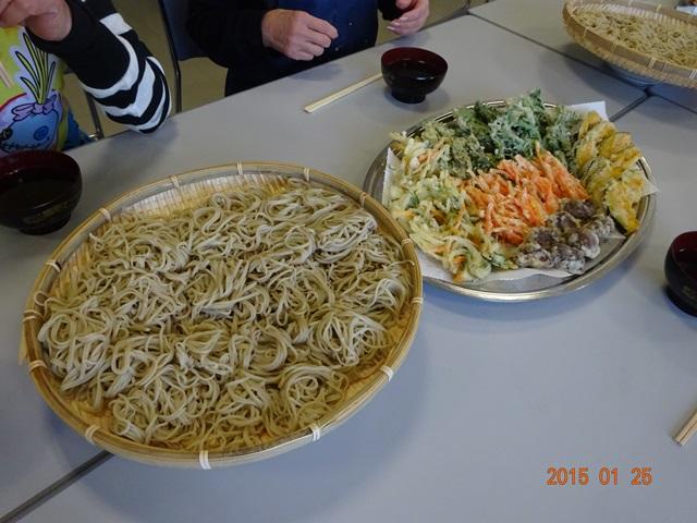 おいしい蕎麦と天ぷら