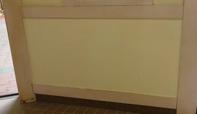 張り替え後の壁紙