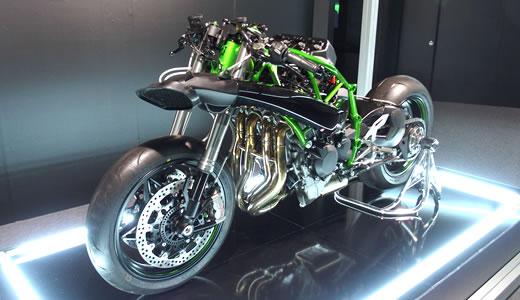 Kawasaki Ninja H2&H2R発表会@海洋博物館(2)-1