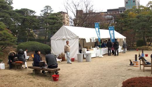 冬の夕べ庭園観賞会@相楽園-4