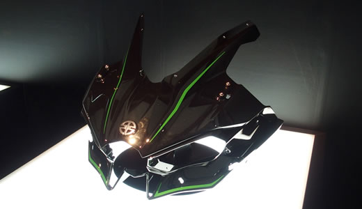 Kawasaki Ninja H2&H2R発表会@海洋博物館(3)-1