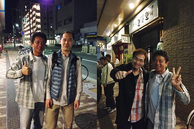 2014年コナミ新長田忘年会の2次会。かるかる酒場。。