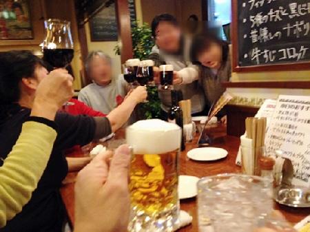 旧神戸立ち呑み文化研究会忘年会の2次会、3次会編♪