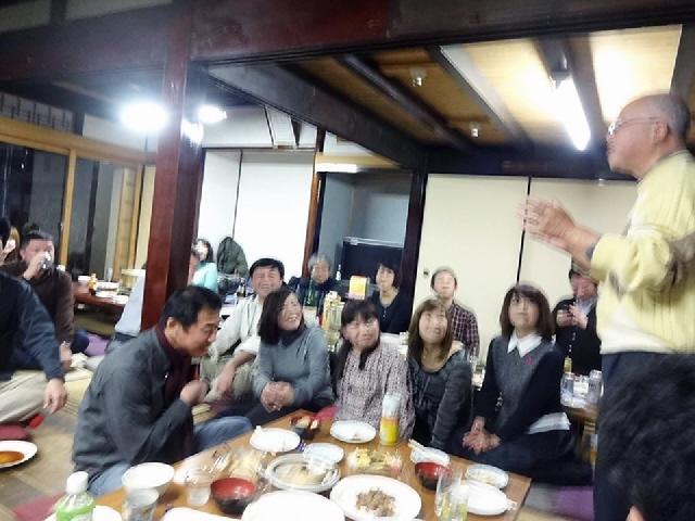 2014.12.20 長田古民家での忘年会。後編(^^♪