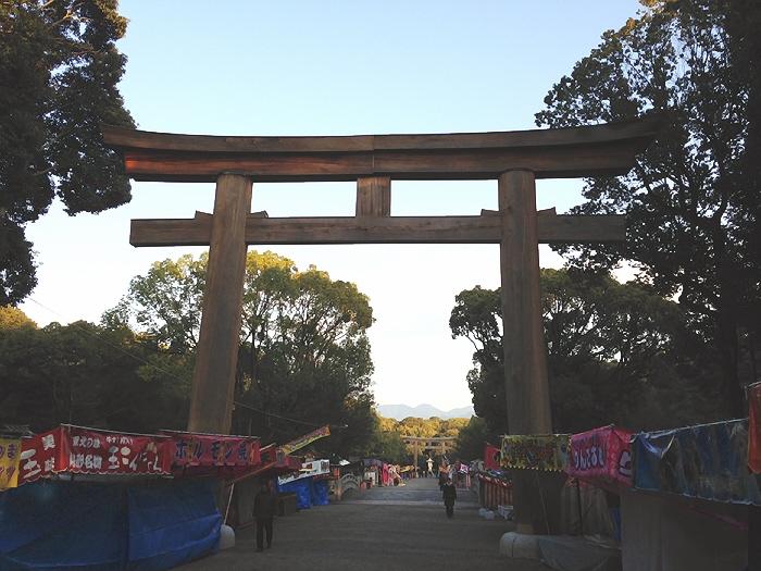 2014年末の初橿原神宮。ありがたや。