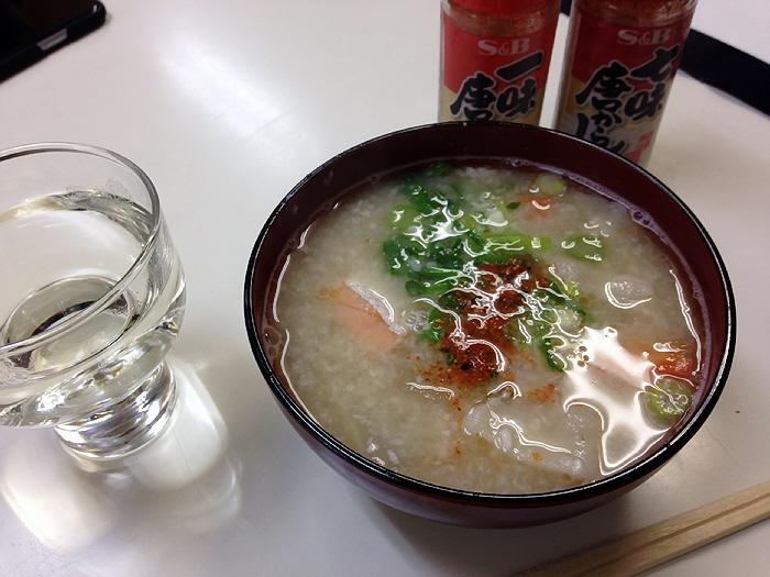 2015.1.31 原酒店の粕汁&雪彦山、すごくぅ~美味しかったですぅ~♪