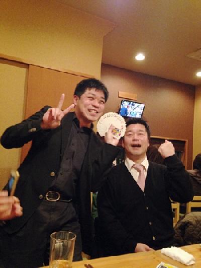 お食事処『なつき』@鷹取駅で新長田軍団お誕生日会♪