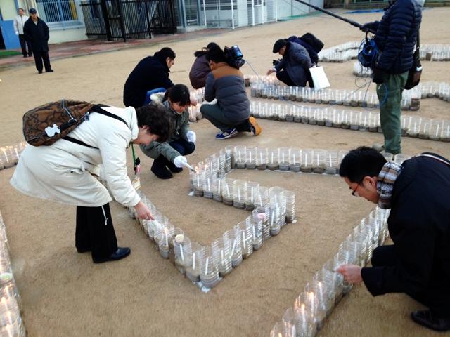 阪神淡路20年。東日本はもうすぐ4年。がんばろう。