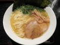 もぐらの唄の鶏白湯×海老ラーメン150125