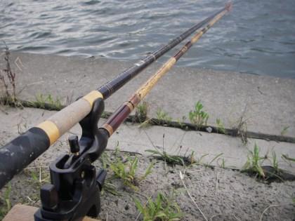 18尺ミャク釣り
