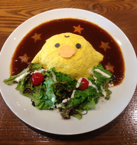 タワーレコード渋谷のリラックマカフェ