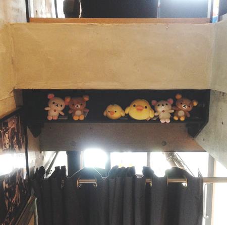 タワーダイニング恵比寿のリラックマカフェ