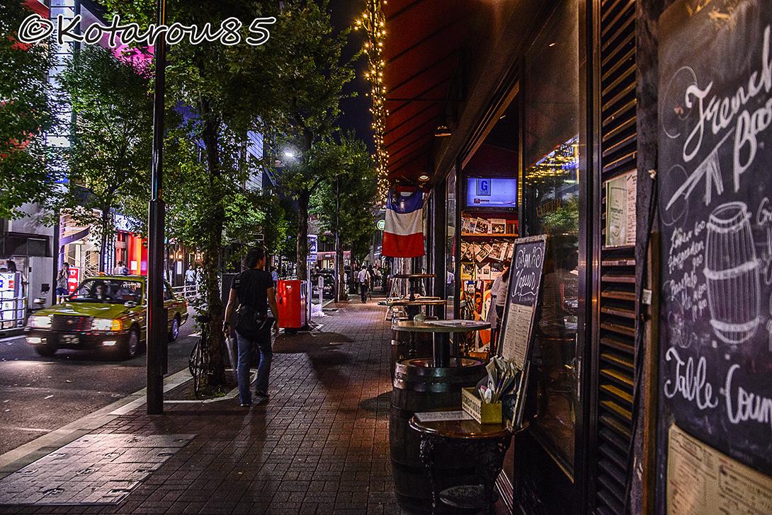 雨上がりのコリドー街 20150818