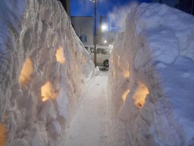 雪あかりのまち川湯温泉
